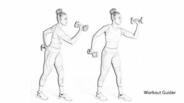 Weighted running arms