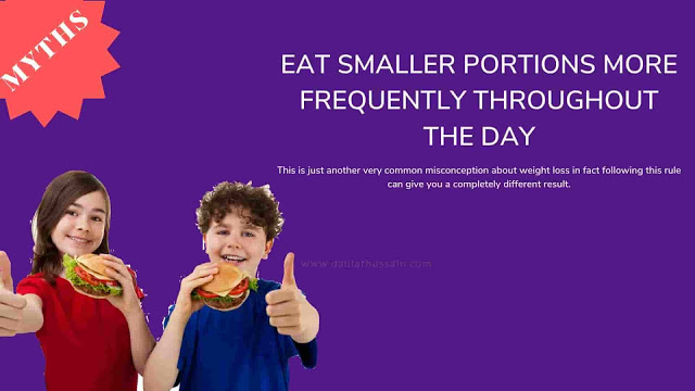 Eat smaller portions more frequently throughout the day