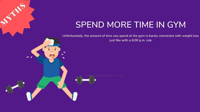 Spend More Time In Gym