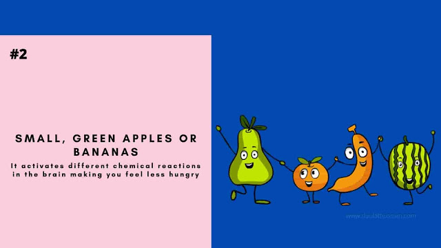 Small, Green Apples or Bananas