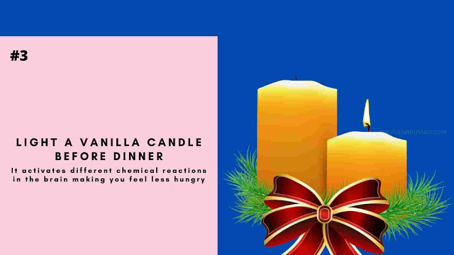 Light A Vanilla Candle Before Dinner
