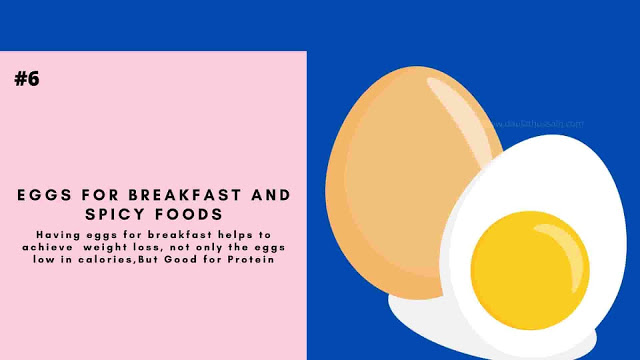 Eggs For Breakfast And Spicy Foods