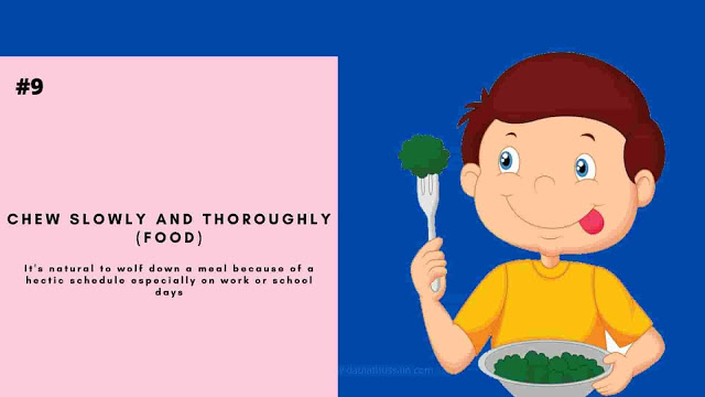 Chew Slowly And Thoroughly (Food)