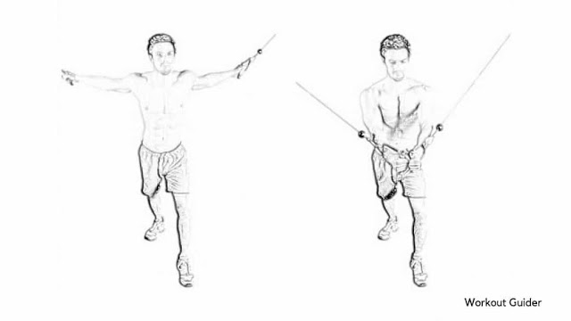 Cable Cross-Over For chest