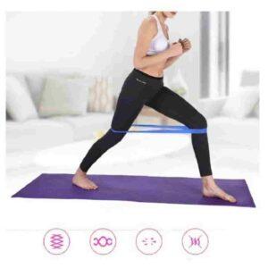 Colors Yoga Resistance Rubber Bands