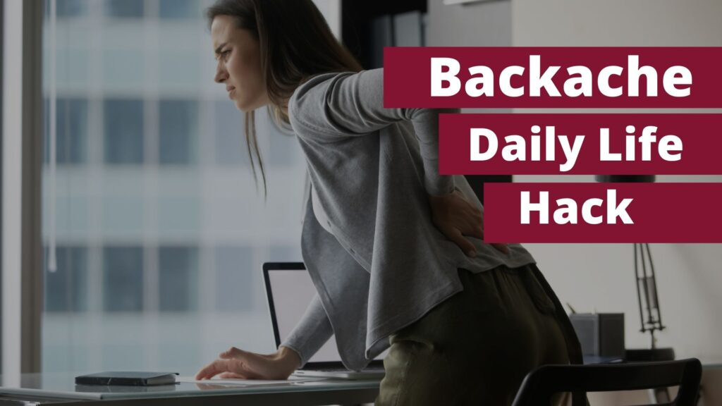 Simple Hack For Back Pain, Backache, Simple Hack Recovery