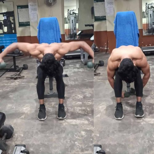 Daulat Hussain shoulder Workout