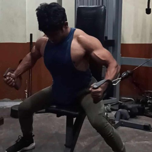 Daulat Hussain Chest Workout