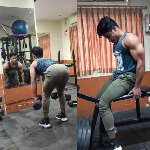 Daulat Hussain Leg Workout